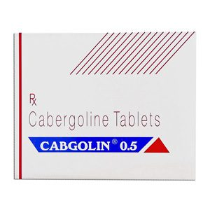 0.25mg (4 pills) of Cabergoline (Cabaser) in USA