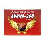 200mg (4 pills) of Avanafil in USA