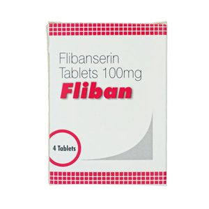 100mg (4 pills) of Flibanserin in USA
