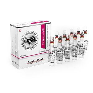 10 ampoules (300mg/ml) of Testosterone enanthate in USA