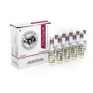 10 ampoules (100mg/ml) of Testosterone propionate in USA
