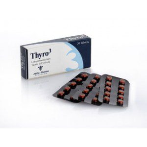25mcg (30 pills) of Liothyronine (T3) in USA