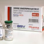 1 vial of 2000IU of HCG in USA