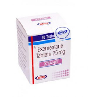 25mg (28 pills) of Exemestane (Aromasin) in USA