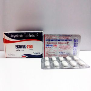 200mg (30 pills) of Acyclovir (Zovirax) in USA