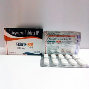 800mg (5 pills) of Acyclovir (Zovirax) in USA