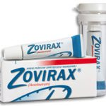 5% Cream tube of Acyclovir (Zovirax) in USA