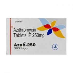 250mg (6 pills) of Azithromycin in USA
