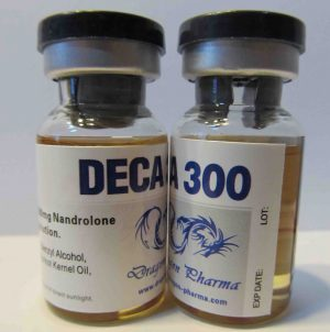 10ml vial (300mg/ml) of Nandrolone decanoate (Deca) in USA