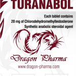 100 Tabs (20 mg/tab) of Turinabol (4-Chlorodehydromethyltestosterone) in USA