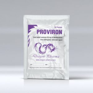 25mg (100 pills) of Mesterolone (Proviron) in USA